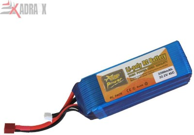 Adraxx 2200mAh 22.2V 45C LiPo RC Battery