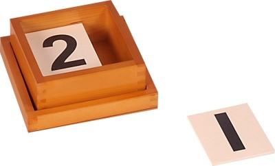 Kidken Montessori Cards for Number Rods