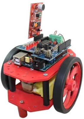 Robomart Sound Operated Robot Using Arduino Board(Red)
