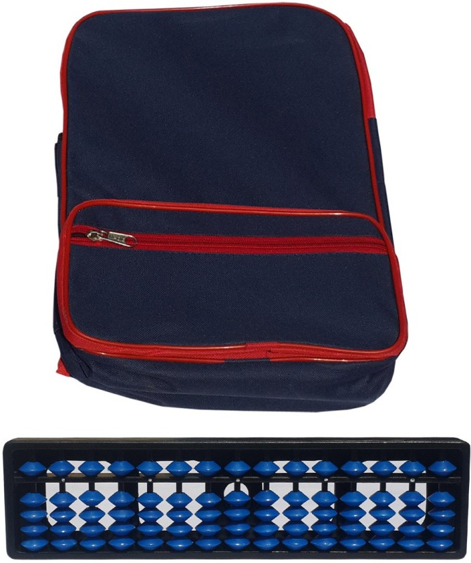 Sae Fashions 15 ROD BLUE ABACUS KIT WITH BACK PACK(Blue)
