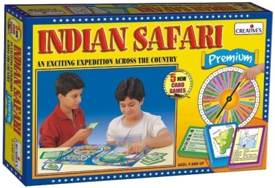 Creative Education Indian Safari Premium