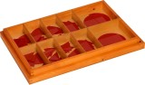 Kidken Montessori Fraction Cut Outs: 1 t...