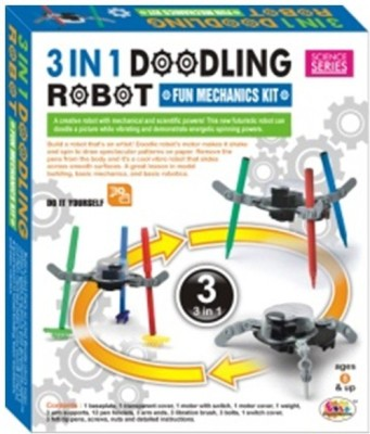 Ekta 3 In 1 Doodling Robot