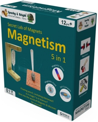 Sparky & Bright Secret Lab Of Magnets - Magnetism 5 in 1