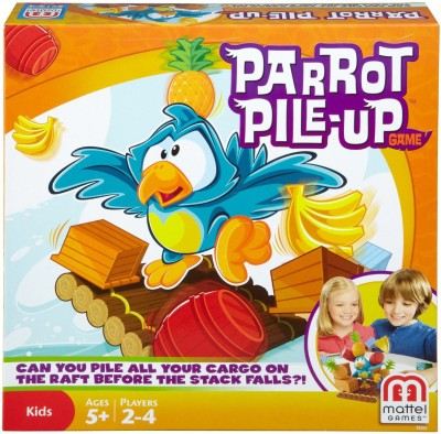 Mattel Games Parrot Pile-Up Game