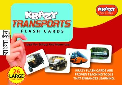 Mind Wealth Krazy Trasnports - Bengali Flashcards