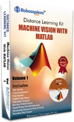 Robomart Machine Vision with Matlab complete Learning Kit