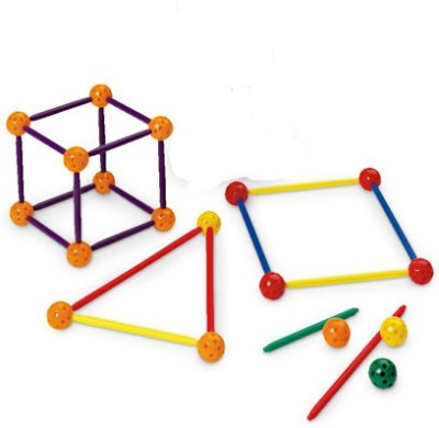 Math Buddy Labs Stic and Ball 3D Geometry Set