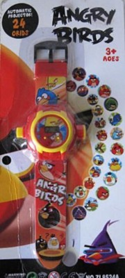 General Aux Angry Bird Projector Watch