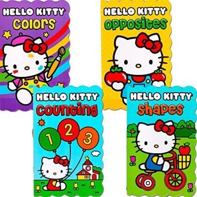 Hello Kitty Board Books - Set of Four