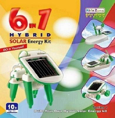 Dreamerdeal (Kids Zone) 6 in One Solar Kit Green(Multicolor)