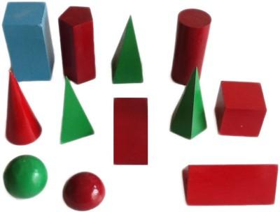 JAINCO Geometrical Figures, Set of 12