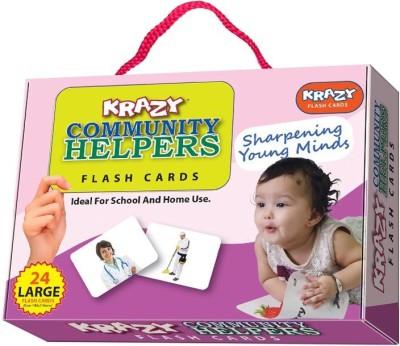 Mind Wealth Krazy Community Helpers Flash Cards