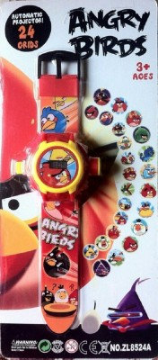 ToysBuggy Angry Birds 24 Images Projector Watch