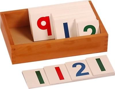 Kidken Montessori Large Number Cards 1 to 1000
