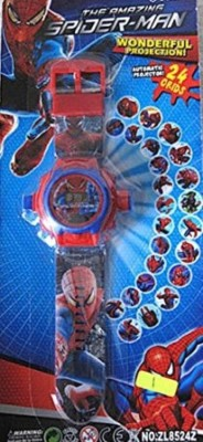 Park,s Spiderman Projector Watch