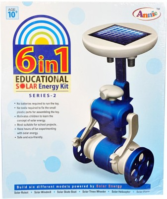 Annie 6 in 1 Educational Solar Energy Kit - Series-2