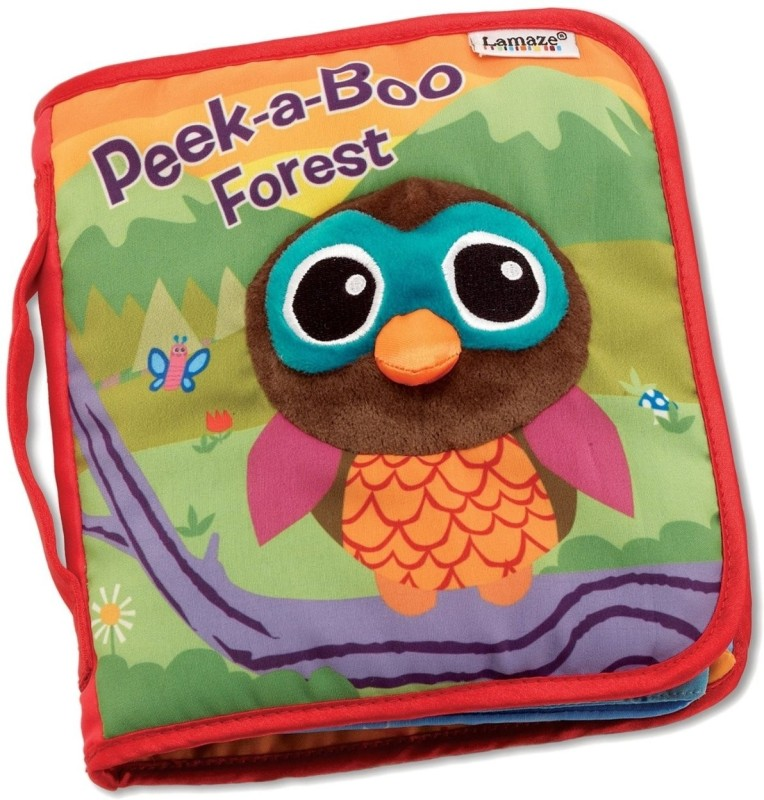 Lamaze Soft Activity Book - Peek a Boo Forest