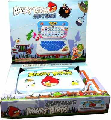 Shop & Shoppee Angry Bird Mini English Leaning Laptop Toy