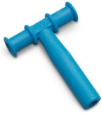 Chewy Tubes T Shape Teether Teether (Blu...