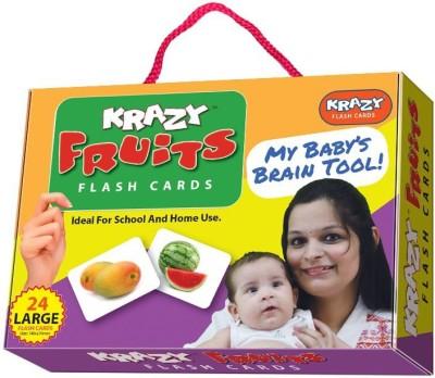 Mind Wealth Krazy Fruits Flash Cards