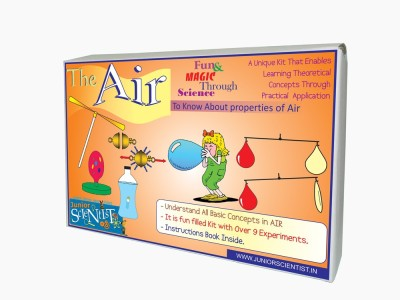 Junior Scientist The Air (Multi Act. Kit)