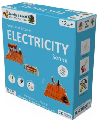 Sparky & Bright Secret Lab Of Electricity - Senior - 10 in 1