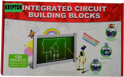 Krypton Electronic Integrated circuit building blocks 120 projects