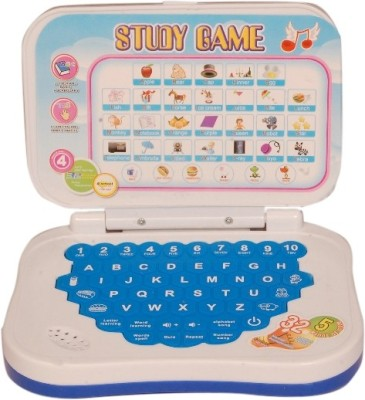 Homeshopeez Kids Educational English Laptop In Assorted Colour