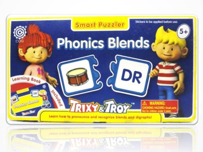 Trixy Troy Iken Smart Puzzler-Phonics Blends