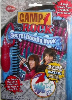Disney Camp Rock Secret Doodle Book