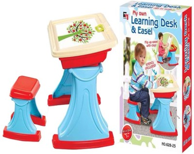 Ayaan Toys Learning Desk and Easel