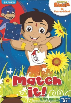 Brands Chhota Bheem Match It Board Game