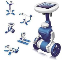 Zest 4 Toyz 6 in 1 solar toy Do it yourself kit for young scientists(Blue)