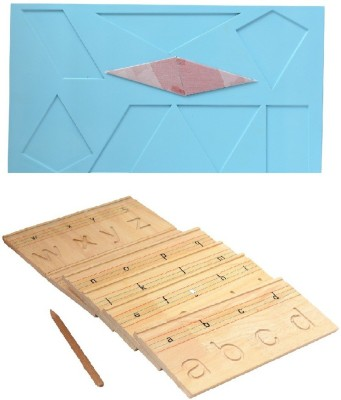 Aimedu Toy Combo Pack Of Wooden Carving Board Small And Shape Magic For Kids Learning