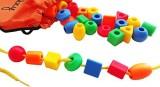 Skoolzy 30 Jumbo Toddler Lacing & String...