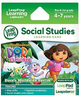 Dora the Explorer LeapFrog Dora the Explorer Learning Game (works with LeapPad Tablets and LeapsterGS)