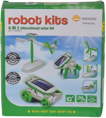 Planet of Toys 6 in 1 Educational Solar Kit