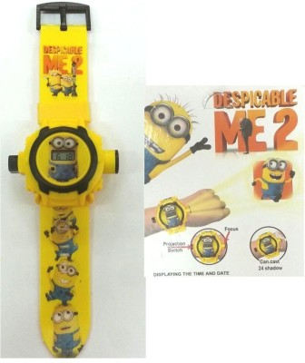 HTS Minions Kids Projector Watch