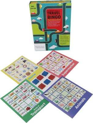 Cocomoco Kids Travel Bingo