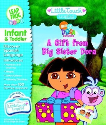Dora the Explorer Little Touch Leap Pad Book