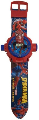 Unica Spider Man 24 images Kids Projector Watch