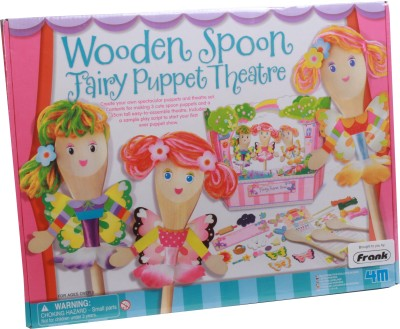 4M Wooden Spoon Fairy Puppet Theatre