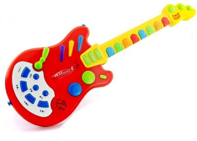 Toys Bhoomi Dynamic Electronic Guitar - The Next Rockstar