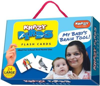 Mind Wealth Krazy Birds Flash Cards