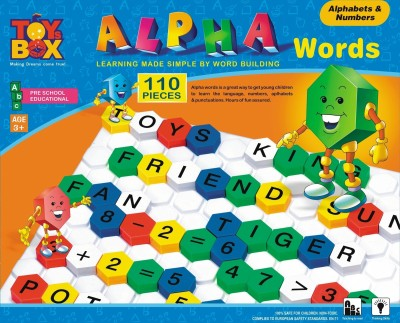 Toysbox Alpha Words - Alphabets & Numbers