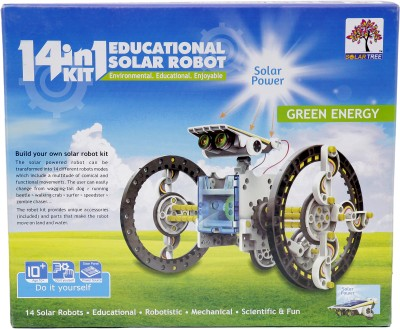 Solar Tree 14 in 1 Educational Solar Robot