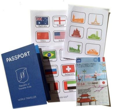 Traveller Kids Play Passport Kit