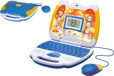 Toyhouse Educational Laptop with 25 functions, Mouse, LED Screen, Blue