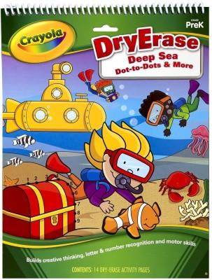 Crayola Dry Erase Activity Tablet Deep Sea Dot To Dots